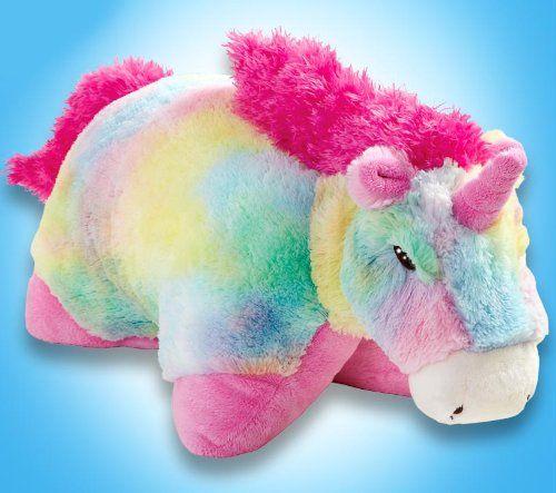 "My Pillow Pets Large 18"" Rainbow Unicorn Pillow Pets,http://www.amazon.com/dp/B005LJGIZQ/ref=cm_sw_r_pi_dp_Vvittb07J18PBYYD"