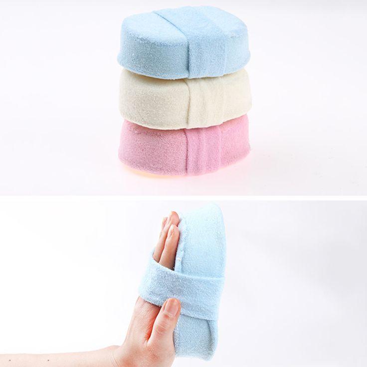 Natural Shower Bath Sponge Loofah Spa Exfoliator Pad Body Cleaning Glove Tool Random Color P20