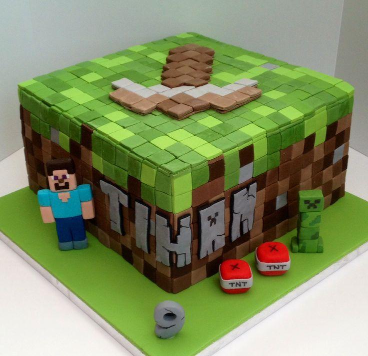 minecraft cake cake pinterest minecraft cake cake and birthday cakes. Black Bedroom Furniture Sets. Home Design Ideas