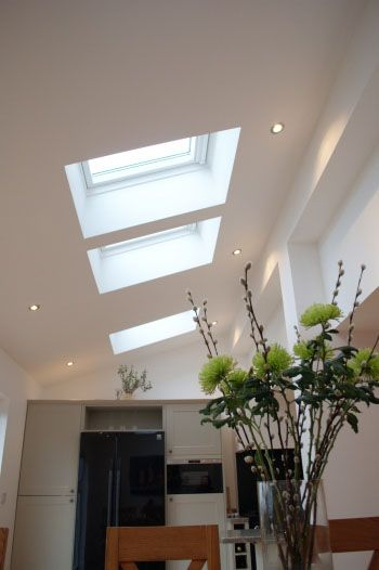 Murray McLeod Associates Ltd, Glasgow proved, with the use of VELUX roof windows, that an area that offered very little in the way of natural daylight can be transformed into a bright and airy space.