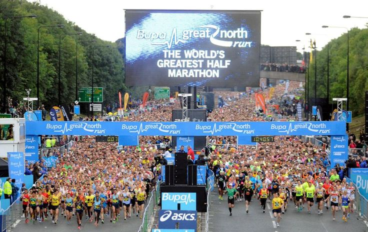 The Great North Run.
