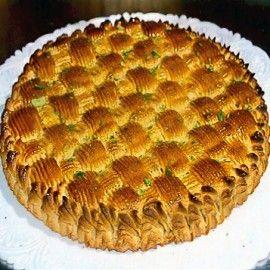Torta delizia alle mandorle | Dolci Siciliani