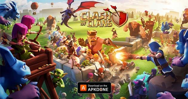 New Apk Clash Of Clans 11 866 1 Mod Unlimited Money Updated