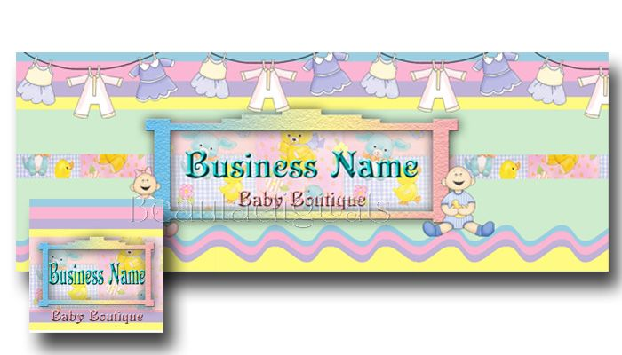 babyboutique Facebook Banners Clearance
