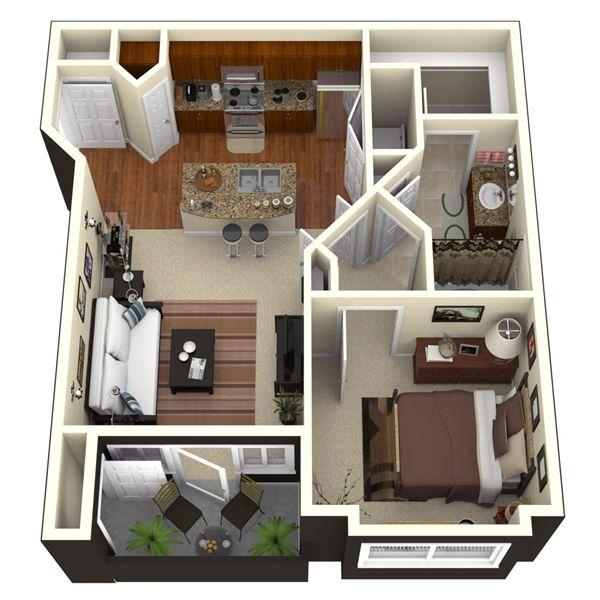 11 best images about Apartment Floor plans on Pinterest