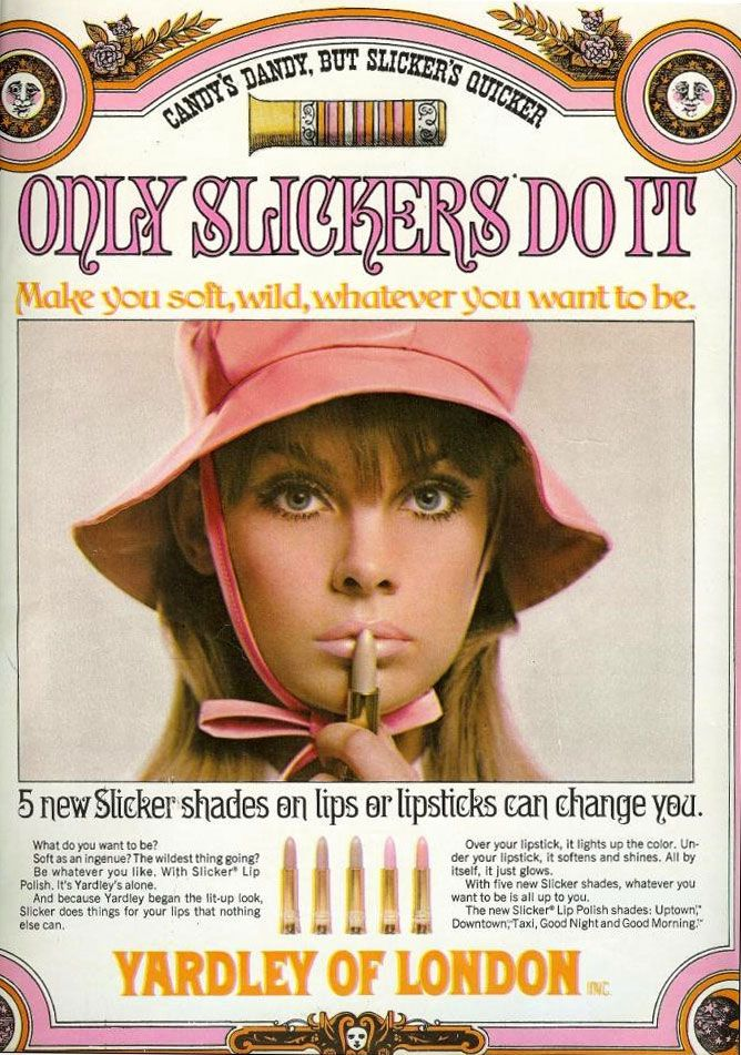 60 S Yardley Of London Lipstick Vintage Cosmetic Ads