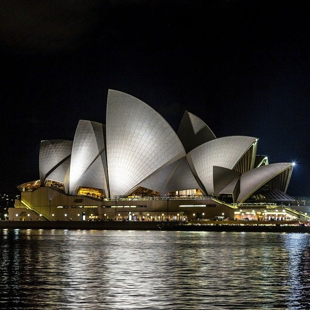 Sam Nahata @snah24 Instagram Best place in the world to visit, the Sydney Opera House. The view is as spectacular at night as it is during the day time! :D