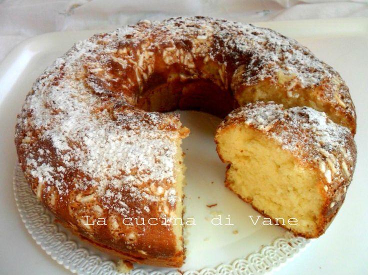 Ricetta torta soffice al latte e panna ricetta golosa