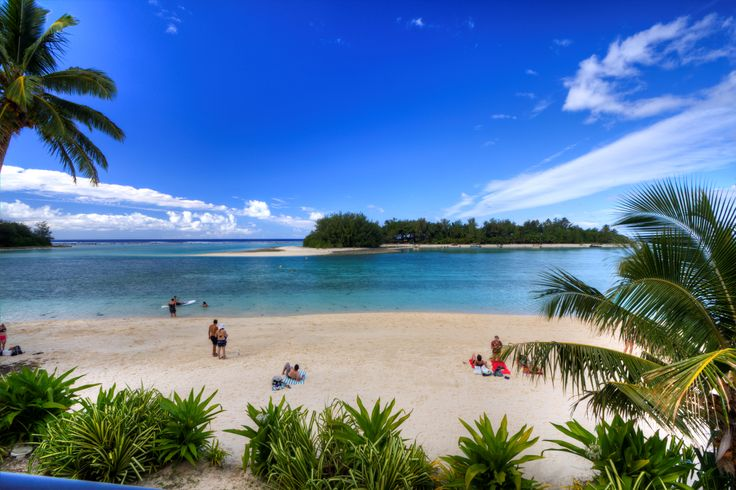 The View from your lounge at Muri Beach Club Hotel! #muribeachclubhotel #cookislands #beach #view