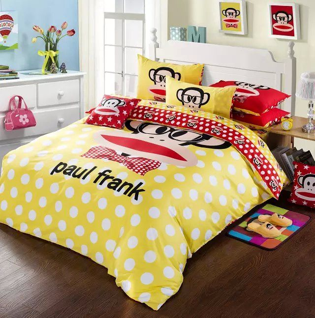 Paul Frank Bedroom In A Box: 17 Best Ideas About Yellow Comforter On Pinterest