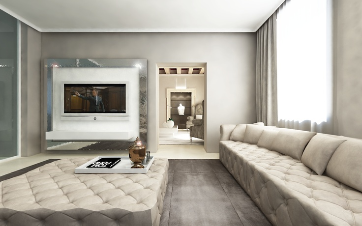 tv room in palce at verona designed by andrea bonini luxury interior &  design studio | Interiors | Pinterest | Interior design studio, Luxury  interior ...