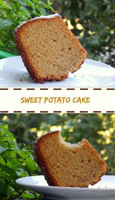 Tante Kiki: Κέικ σιμιγδαλιού με γλυκοπατάτα & κανέλα