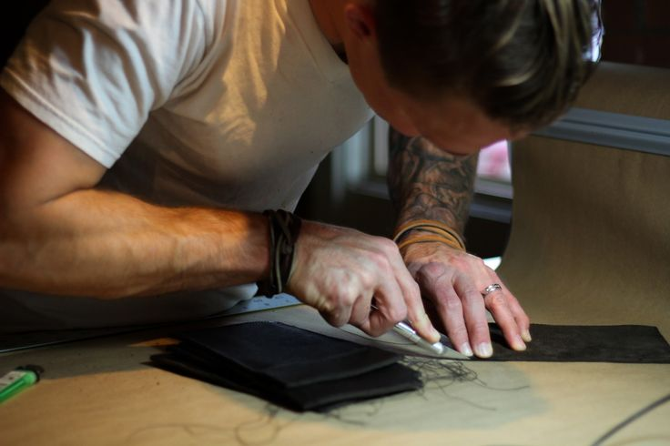 Shane Douglas of Douglas & Co. makes every product by hand in the Detroit workshop. - Provided by Forbes