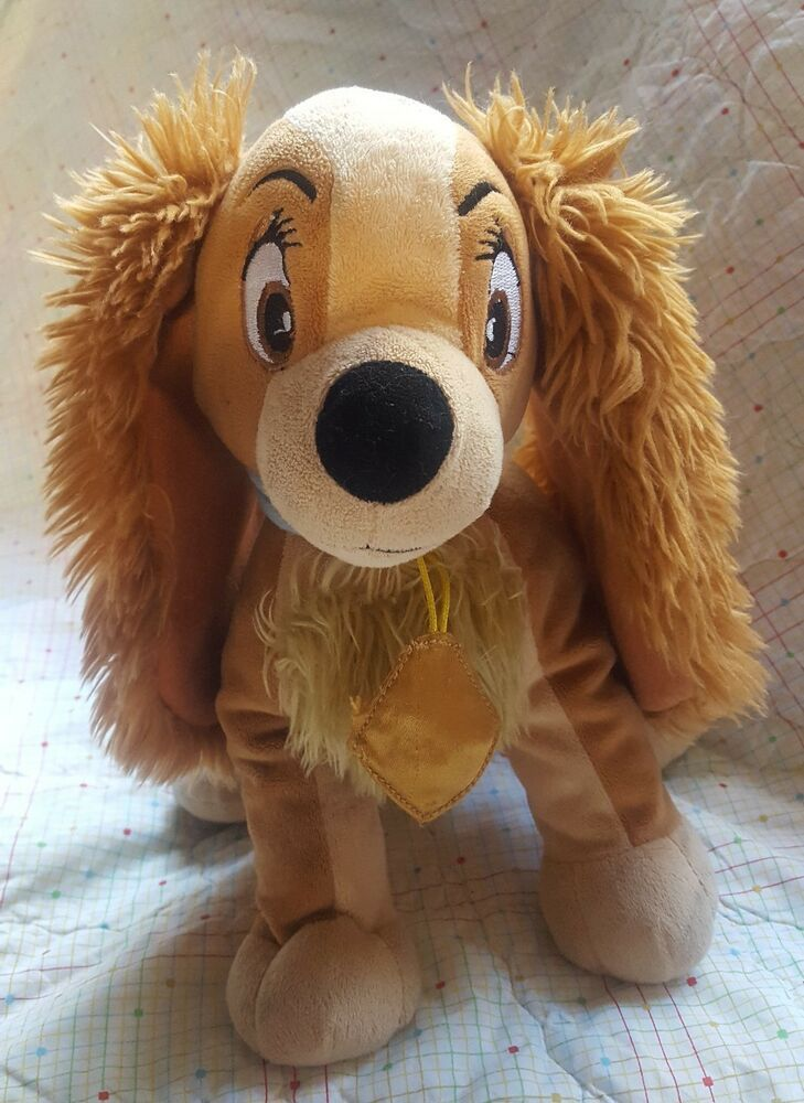 Details About Disney Lady And The Tramp Lady 12 Soft Plush Toy