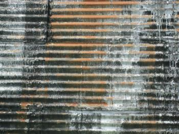 Shannon Palmer- Painted Tin Wall
