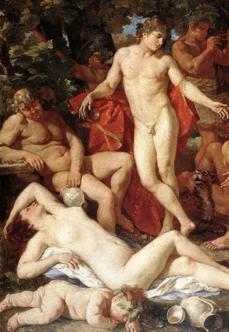 """Resultado de imagen de """"Midas ante Baco"""", ca. 1630, Poussin"""