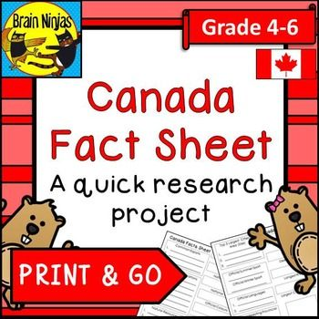 Canada Quick Research Project - Good for preliminary research project --> Focus on key word search
