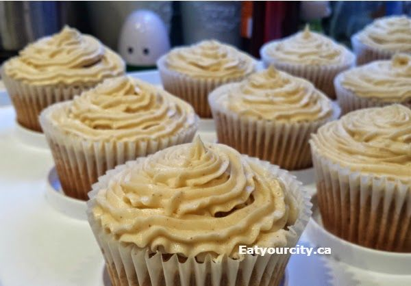 Masala chai latte cupcakes topped with fluffy Chai buttercream... these cupcakes are just dreamy!    I made them both with Remedy Cafe's chai syrup, and have spice substitutions if you want to make the chai flavoring completely from scratch!