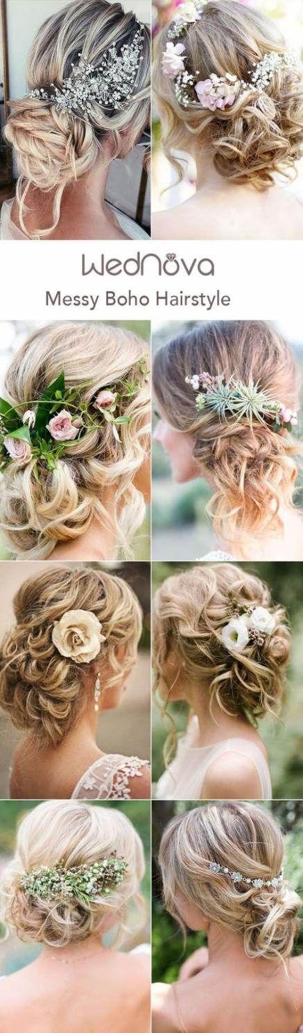 57 trendige Ideen Frisuren Hochzeit Bohème – ❤️ Hairstyles