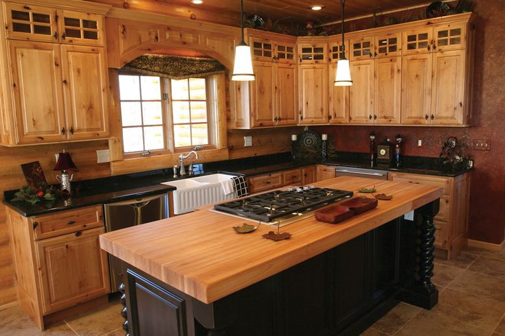 Kitchen, Kitchen And Also Awesome Rustic Kitchen Cabinets  For Your Home And…