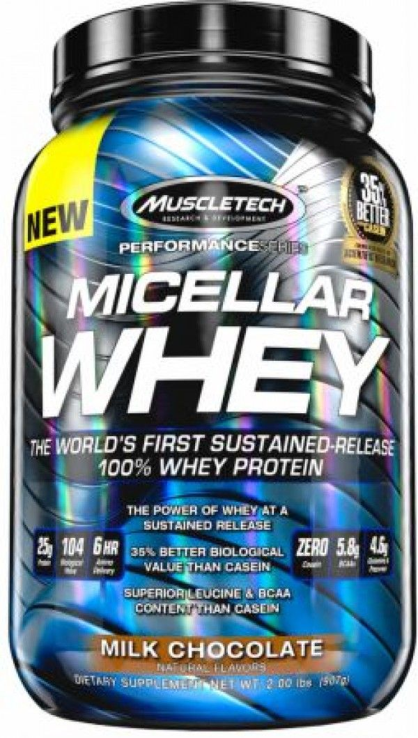 MuscleTech Micellar whey Casein Protein. It designed for athletes who are looking for more muscle, more strength and better performance.
