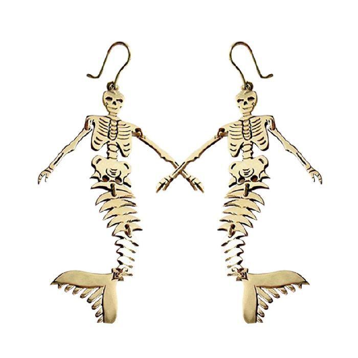 Ms de 25 ideas increbles sobre Esqueleto de sirena en Pinterest