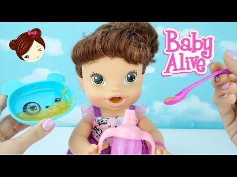 Baby Alive Muñeca Come Mc Donalds Cajita Feliz y Hace Popo en El Pañal - YouTube
