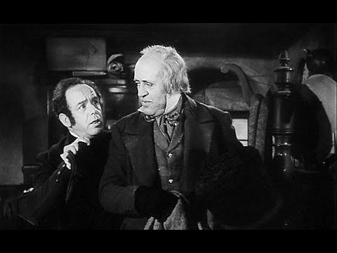 ▶ A Christmas Carol [Scrooge] (1951) - Alastair Sim version. An old bitter miser is given a chance for redemption when he is haunted by three ghosts on Christmas Eve. [pinned by PartyTalent.com]