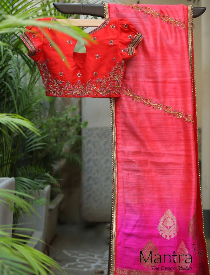 Its not a secret Everyone is a die hard fan of pink...The drama and extravagance of Red Rani pink hues like tomato red brick red bright pink hot pink brings out the feminity and simplicity.....This wedding season try out this pink and red lehengas..... 13 May 2017