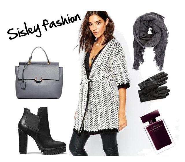 sisley by julimatveeva on Polyvore featuring мода, Sisley, Lanvin, Isabel Marant, Banana Republic and Narciso Rodriguez