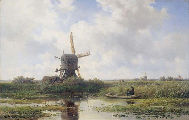 In 't Gein bij Abcoude, Willem Roelofs (I), 1870 - 1897