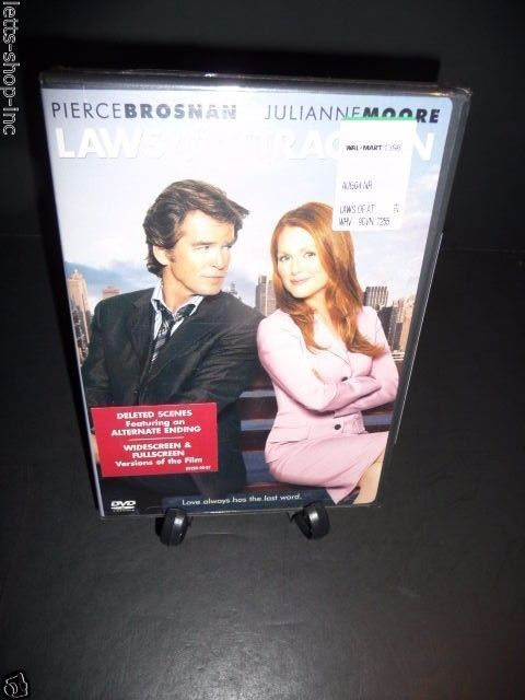 Laws of Attraction (DVD, 2004) Fran Walsh, Julianne Moore  New Sealed