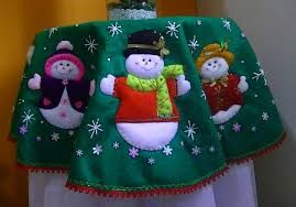 Resultado de imagen para manualidades navideñas 2014 con moldes