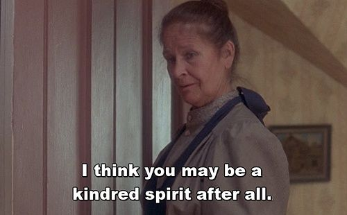 Anne of green gables quote ... I love Colleen Dewhurst as Marilla!