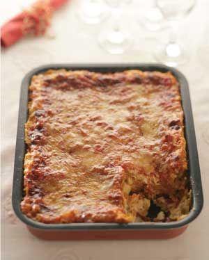 Pumpkin, Feta, Baked Pasta