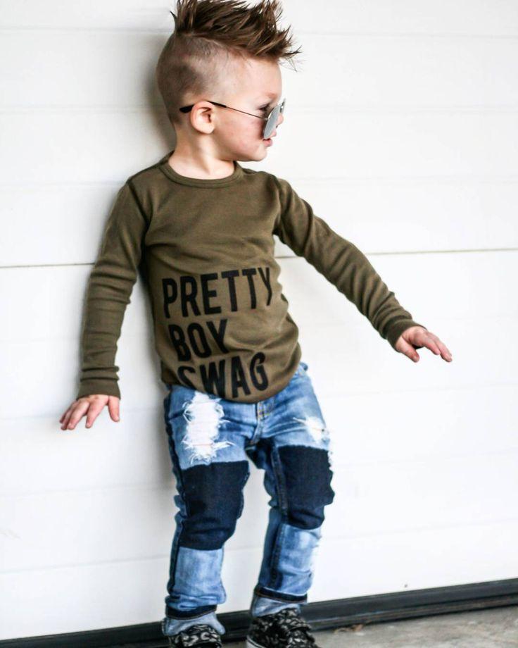 """Pretty Boy Swag "" toddler style #toddlerstyle boy fashion #boyfashion Trilogy Design Co #trilogydesignco"