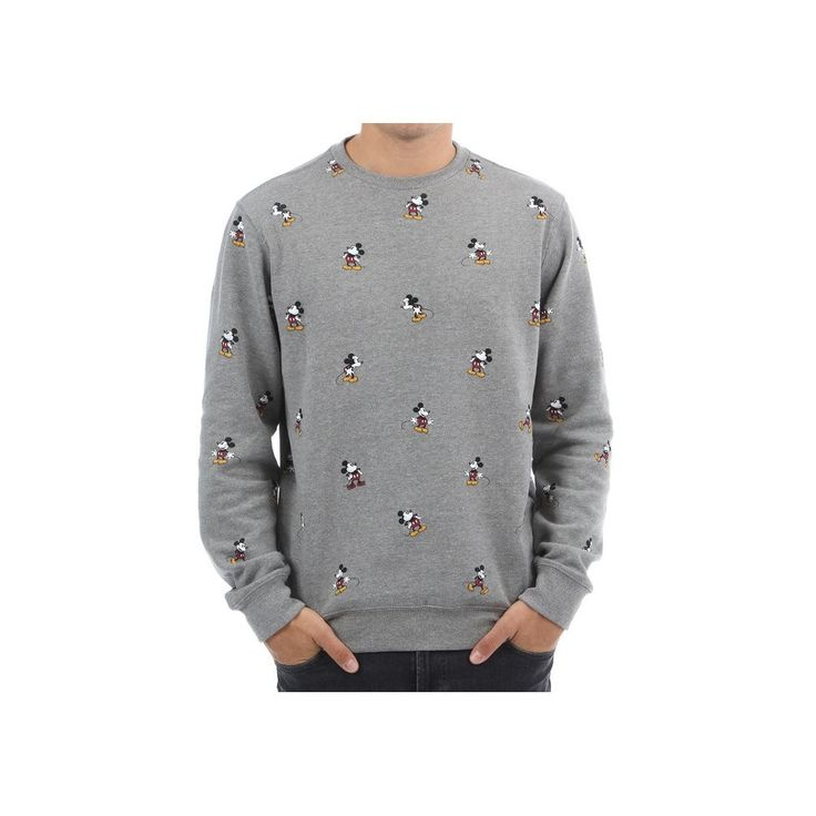 Sudadera Vans – Mickey Mouse Gris Concrete