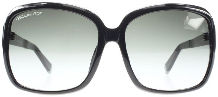 Dsquared 0064 01B Black 0064 Square Sunglasses Lens Category 3. Dsquared sunglasses. Dsquared women genuine. Dsquared women accessories. Dsquared sunglasses shades case SALE. black women sunglasses lens category 3.