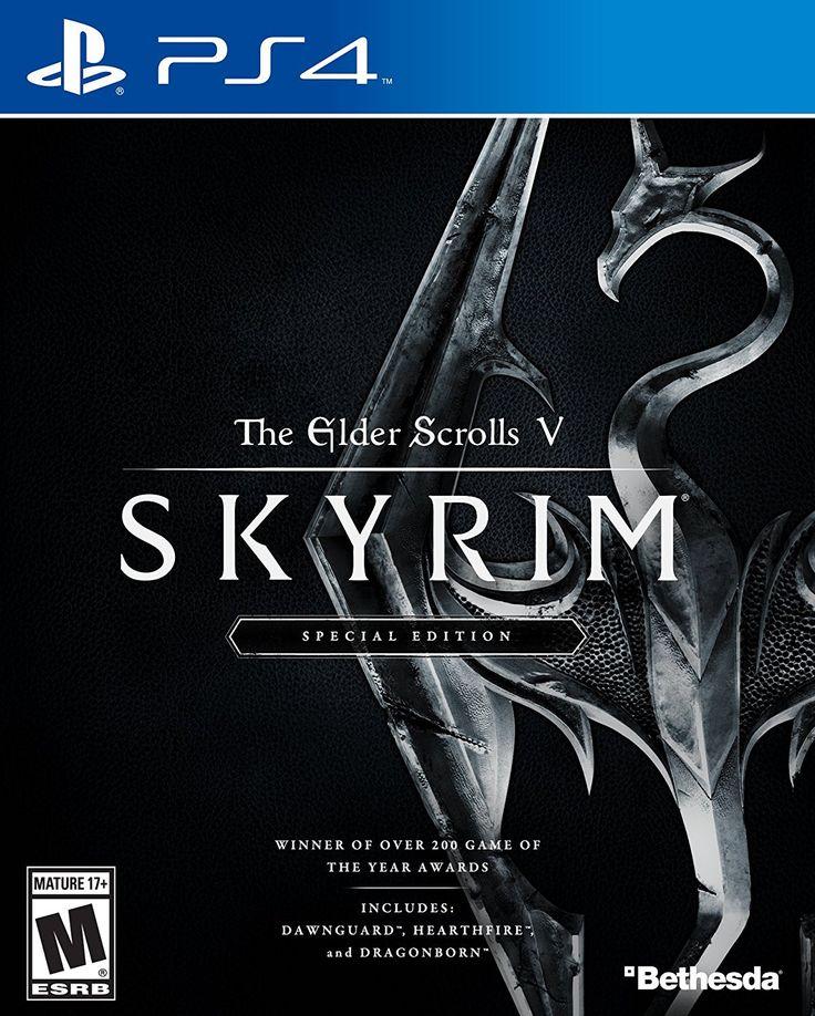 The Elder Scrolls V: Skyrim - Special Edition For PlayStation 4 (Physical Disc)