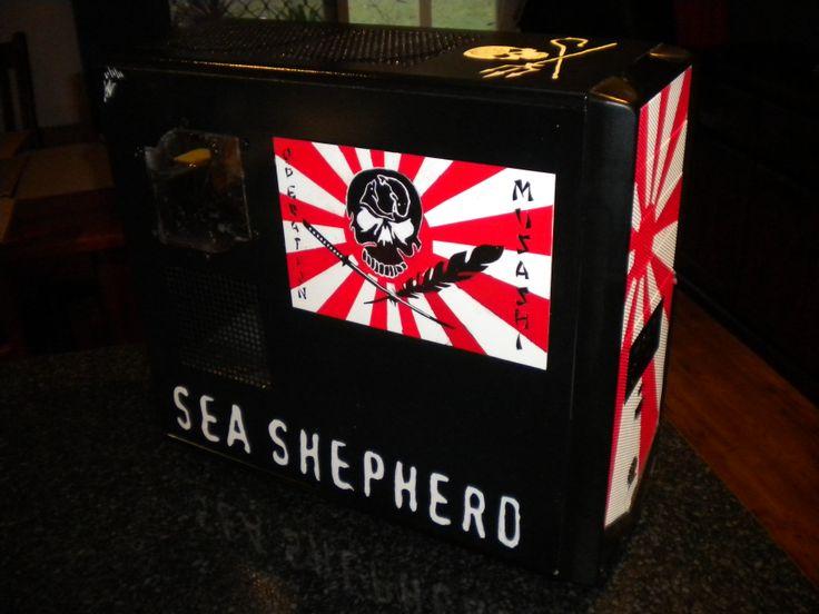 Sea Shepherd PC Case