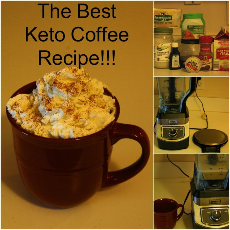 The best tasting recipe for Keto Coffee or Bulletproof Coffee on the internet! Sweet and creamy coffee recipe! Follow for more content!