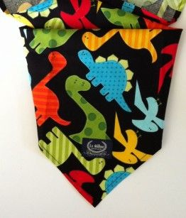 Head scarf dinosaurs