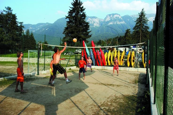 Volleyball field - Campo pallavolo