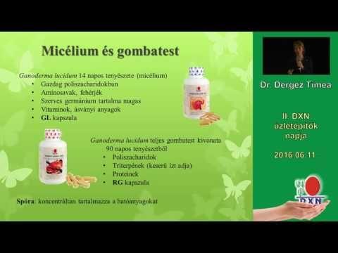 Dr. Dergez Tímea PhD egyetemi adjunktus előadása (2016.06.11.) Szánj egy kis időt erre a videóra, hogy megtudd Neked miért van szükséged a DXN termékeire.  http://marticafe.dxn.hu/ganoderma http://marticafe.dxn.hu/uzleti_lehetoseg