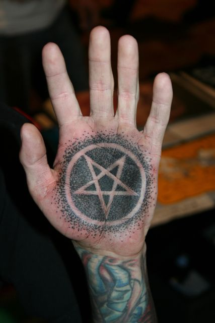 loves satan.