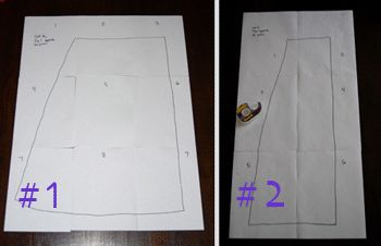 wrap skirt pattern and how-to