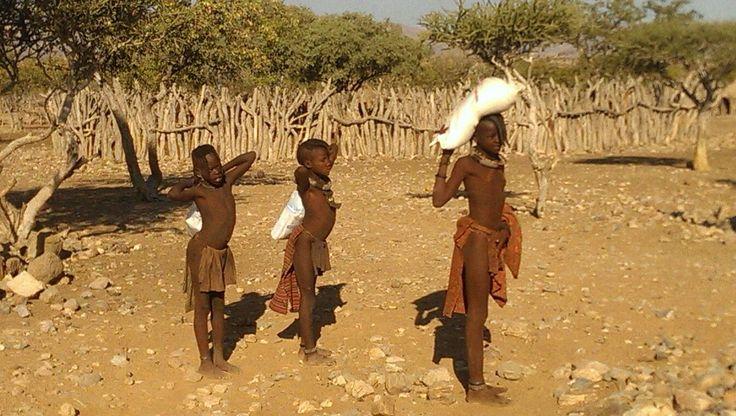 Himba, namibia.