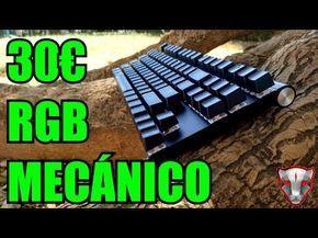 ¡MEJOR TECLADO MECÁNICO RGB 30€ RELACIÓN CALIDAD/PRECIO BARATO!: Review MOTOSPEED CK 101 2017 - YouTube
