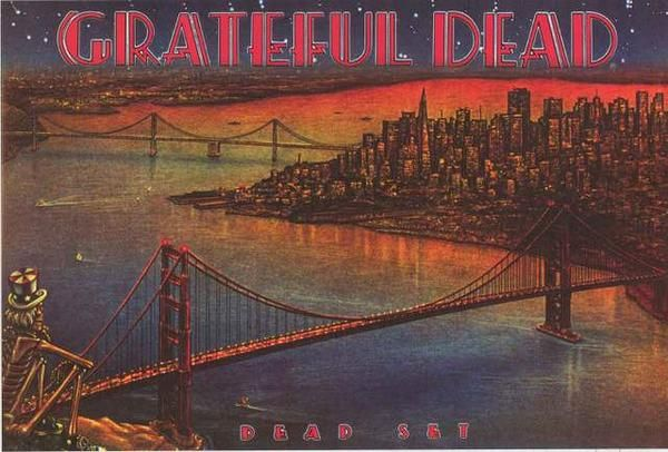 Grateful Dead Dead Set Album Cover Poster 24x36 – BananaRoad
