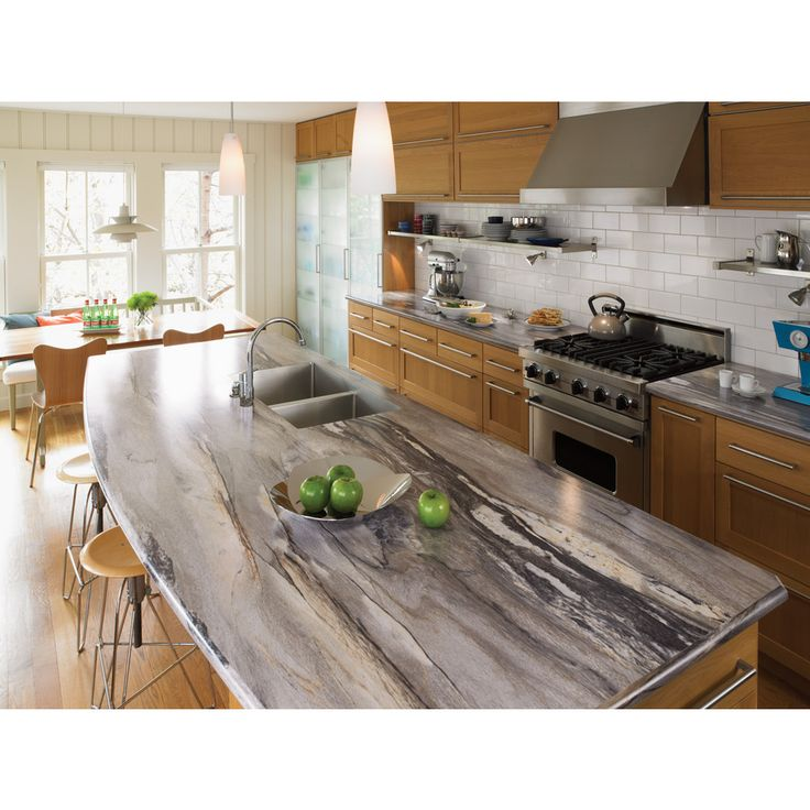 Best Countertops For Kitchen: Shop Formica Brand Laminate 60-in X 144-in Dolce Vita